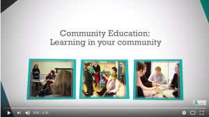 Why choose community education?