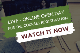 Live Online Open Day for courses registration